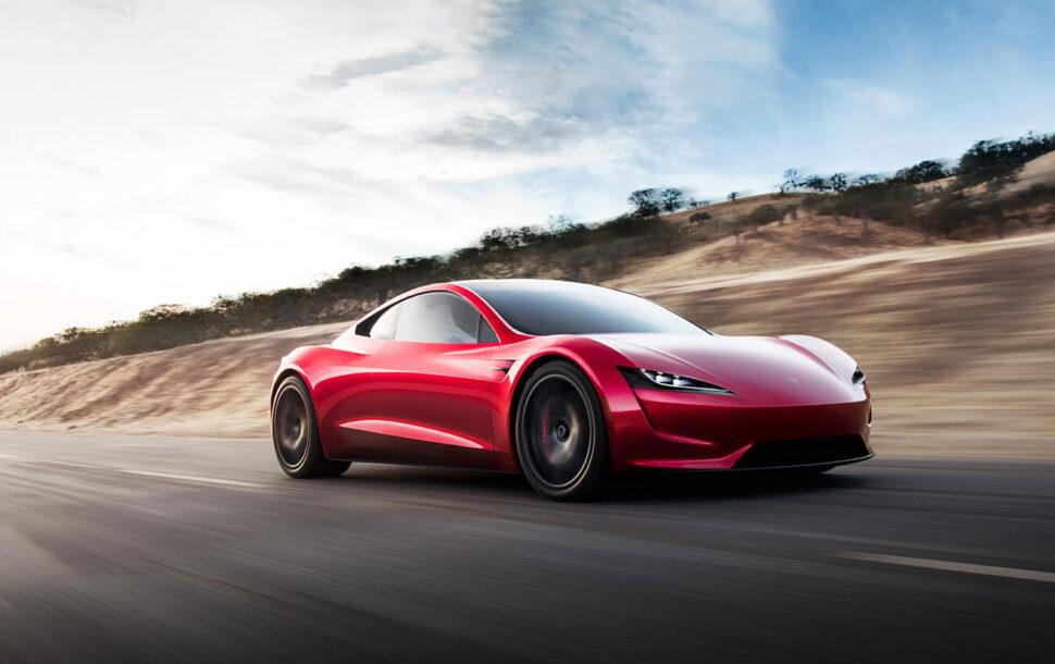 Tesla Roadster SpaceX doet straks 0-100 in 1,1 (!) seconde